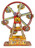 J Chein Tin Litho Ferris Wheel Toy