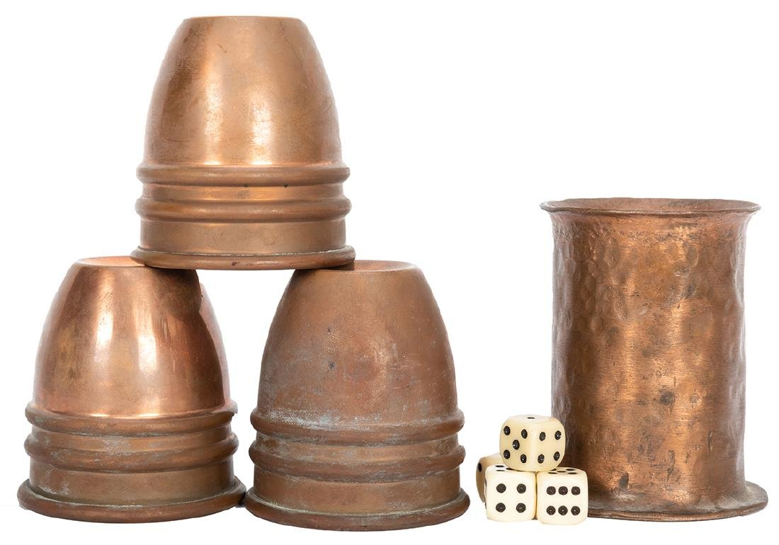 Copper Cups and Balls Owned by Kalanag.