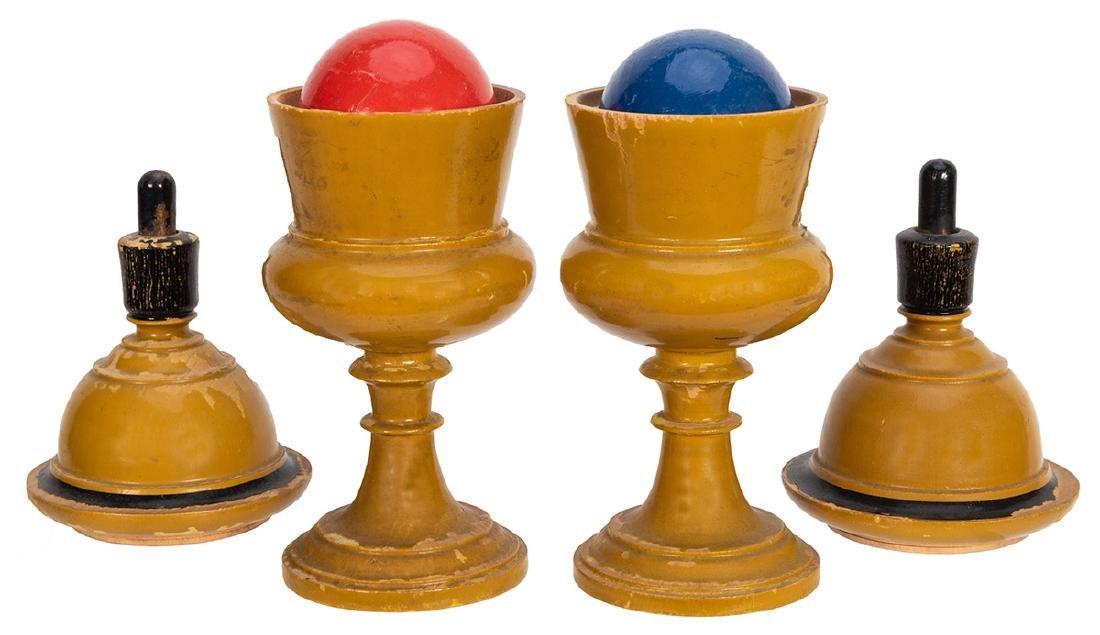 Passe Passe Ball Vases. - 2