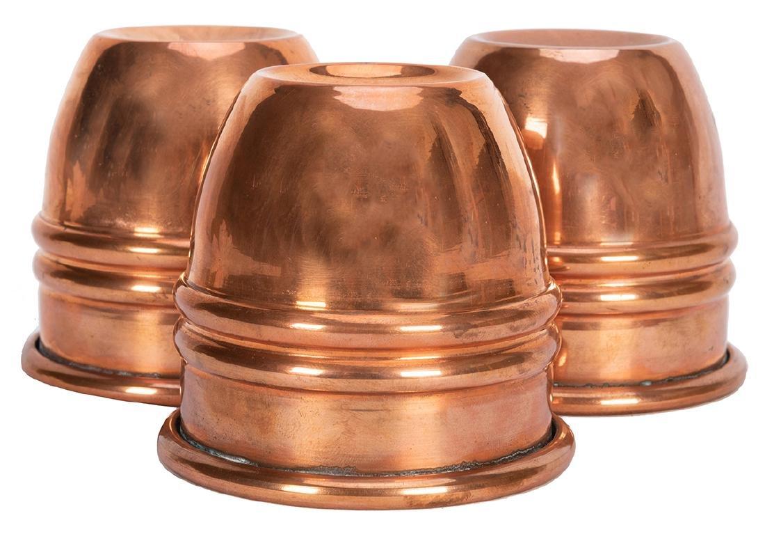 Copper Paul Fox Cups.