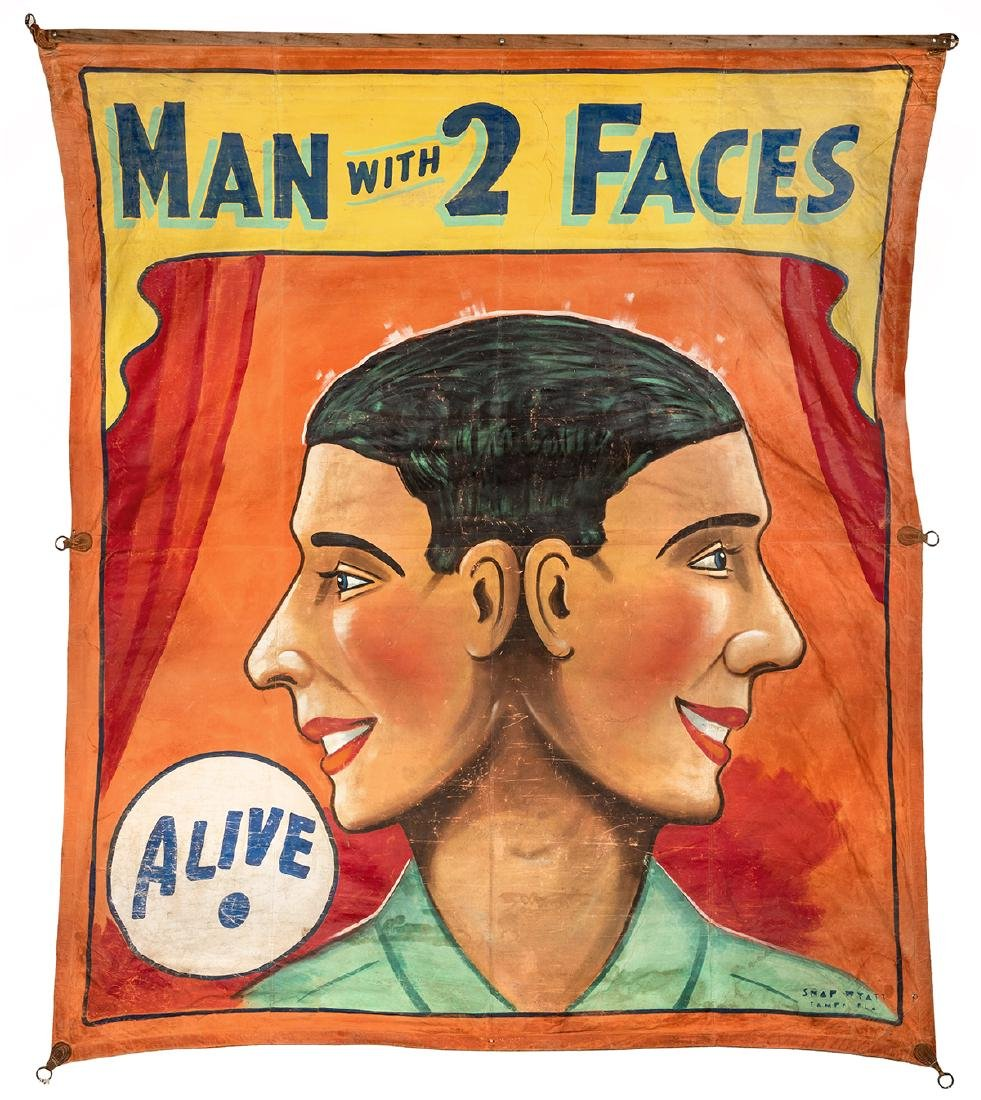 The Man with Two Faces.