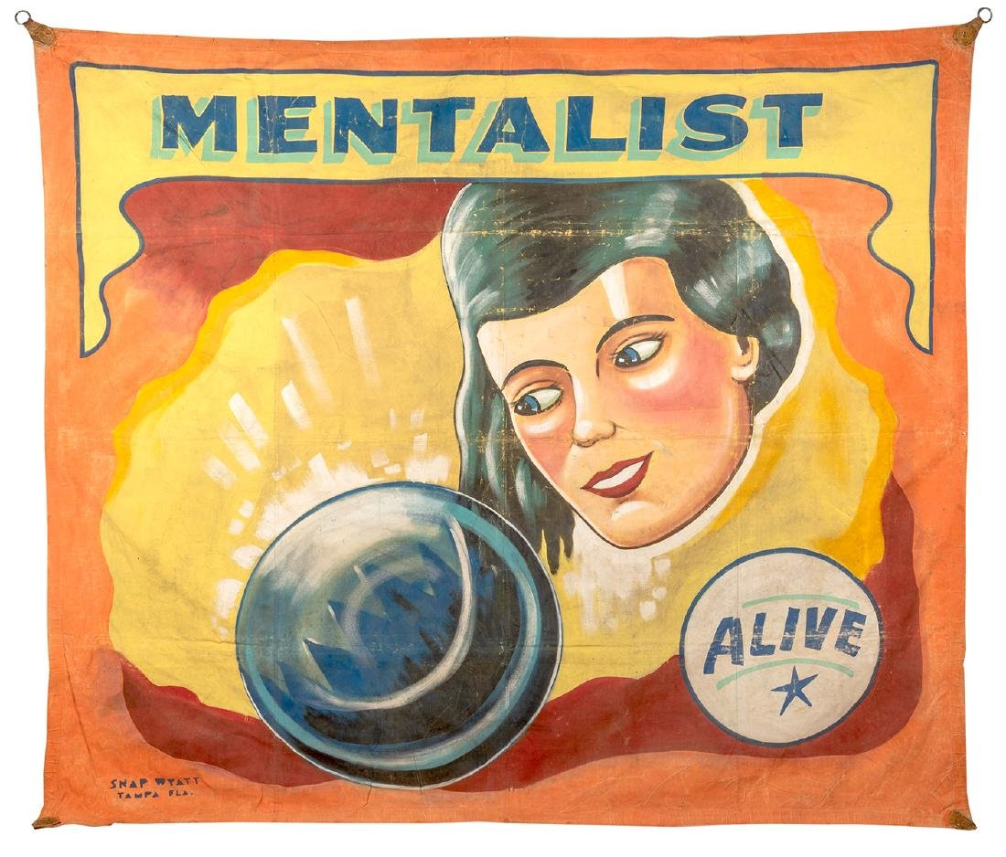 Mentalist. Sideshow Banner.