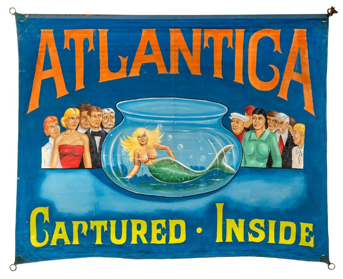Atlantica. Captured. Inside. Sideshow Banner.