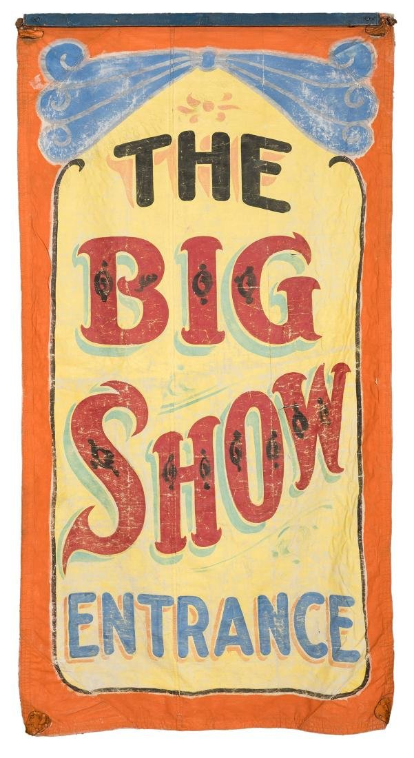 Big Show Entrance Sideshow Banner.