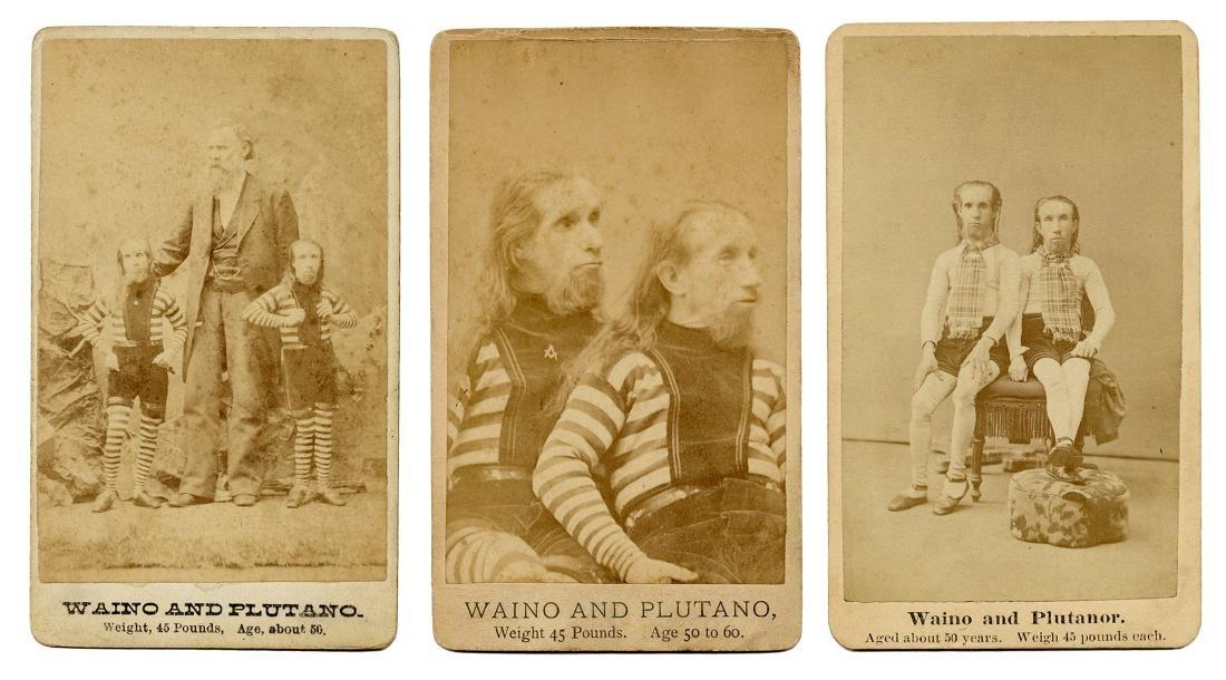 Wild Men of Borneo Photographs.