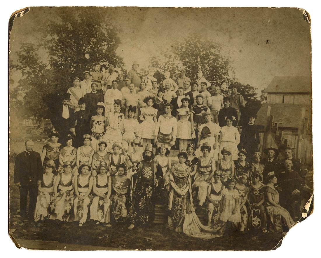 Group of Circus Photographs, Postcards, and Other - 3