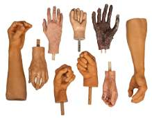 Arms and Hands for Wax Museum Figures