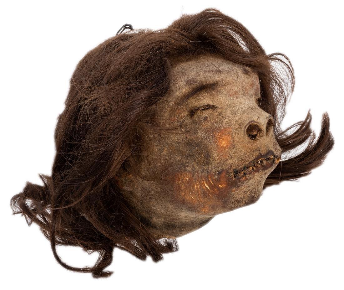 Vintage Shrunken Head.