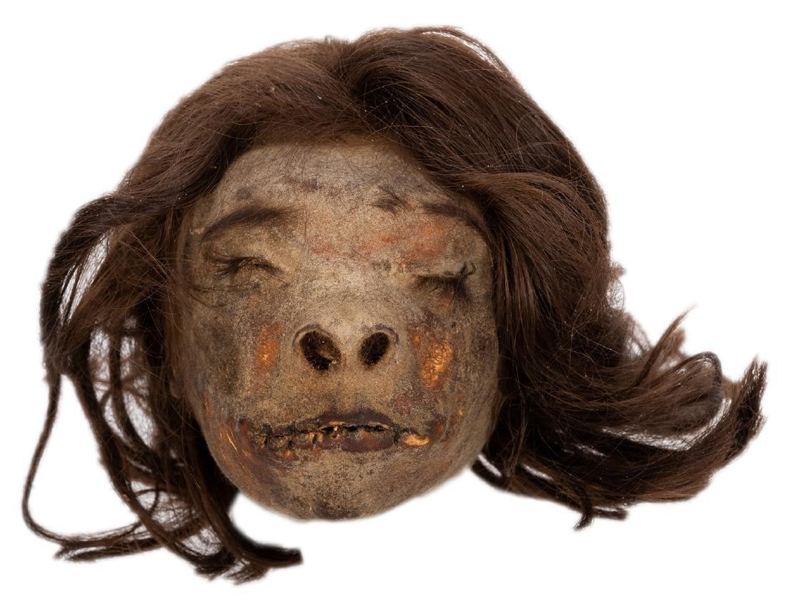 Vintage Shrunken Head. - 2