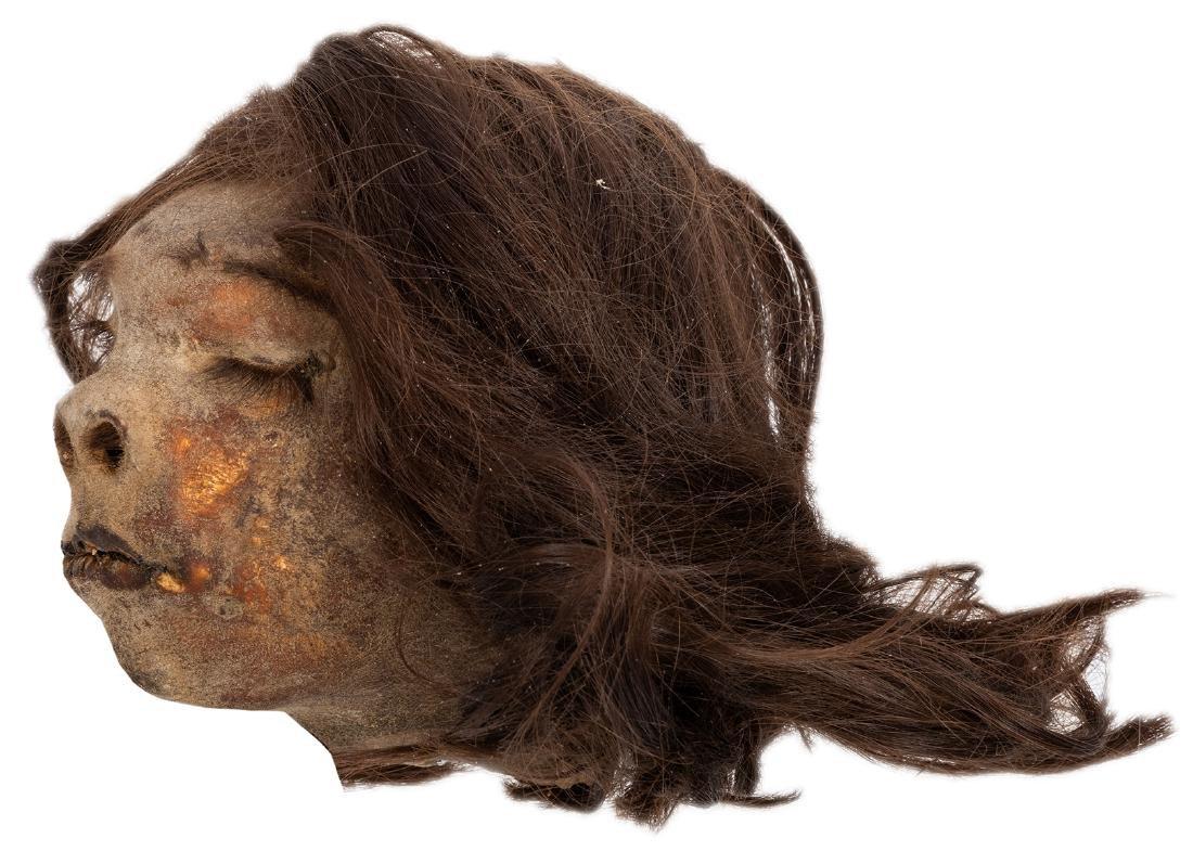 Vintage Shrunken Head. - 3
