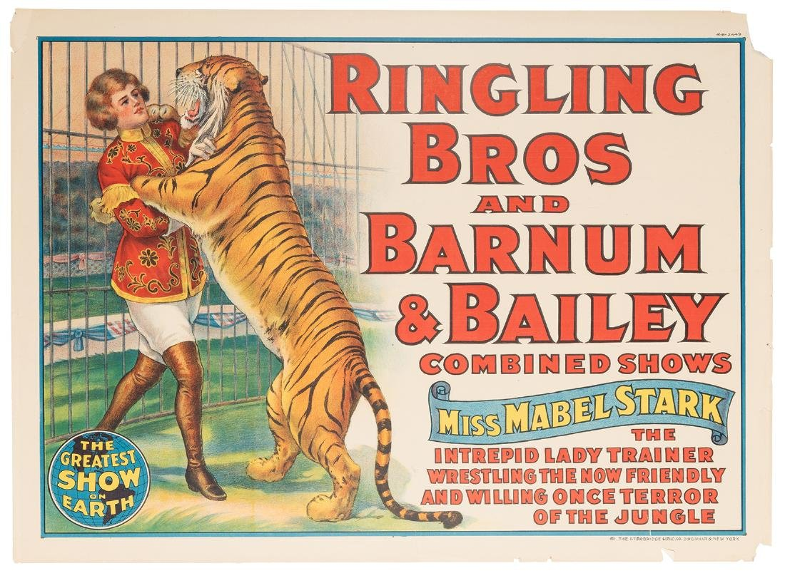 Ringling Bros and Barnum & Bailey Combined Shows. Miss