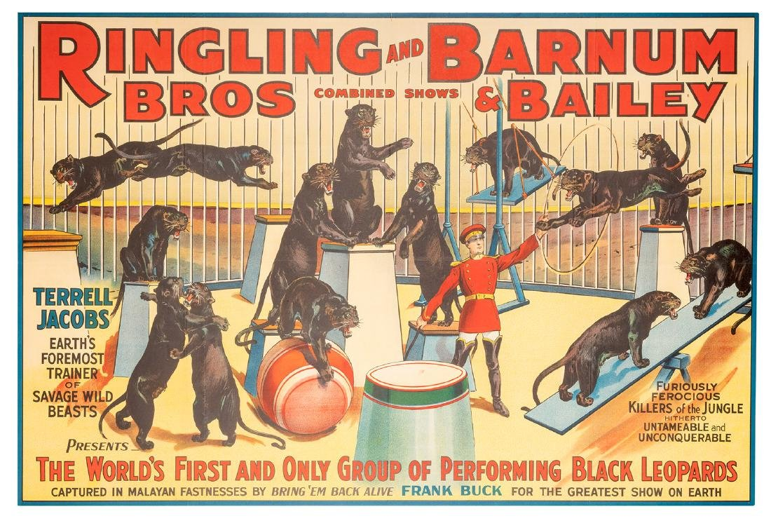 Ringling Bros. and Barnum & Baile. Terrell Jacobs.