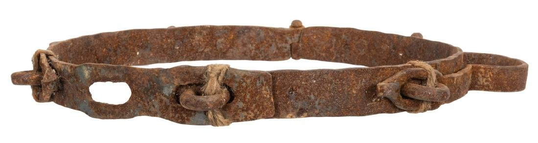 Antique Waist Shackle. - 2