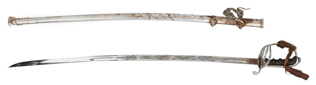 Five Antique Swords. - 2