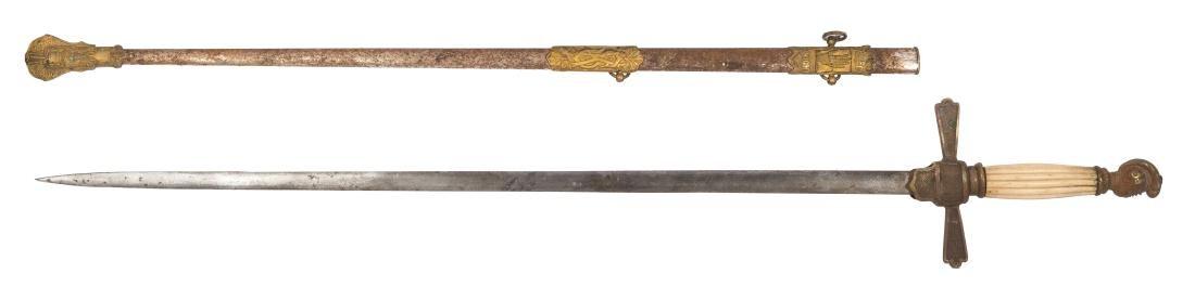 Five Antique Swords. - 3