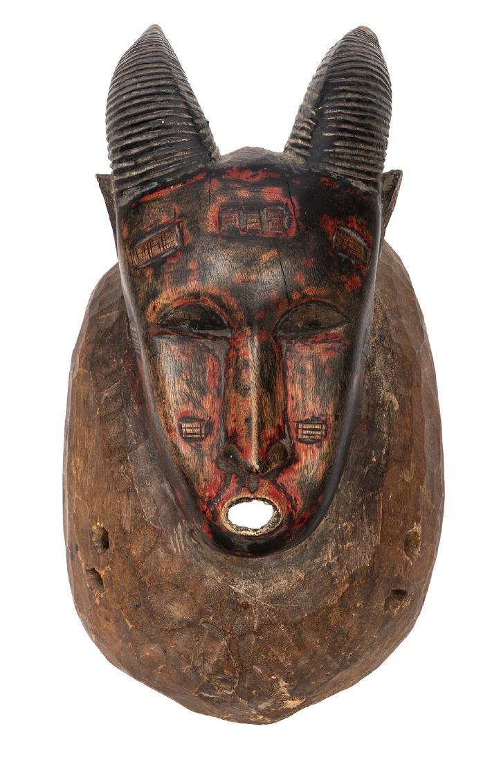 Vintage African Wooden Mask.