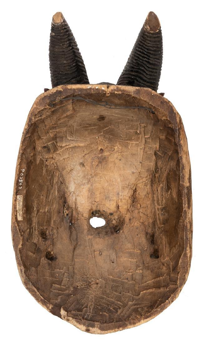 Vintage African Wooden Mask. - 3