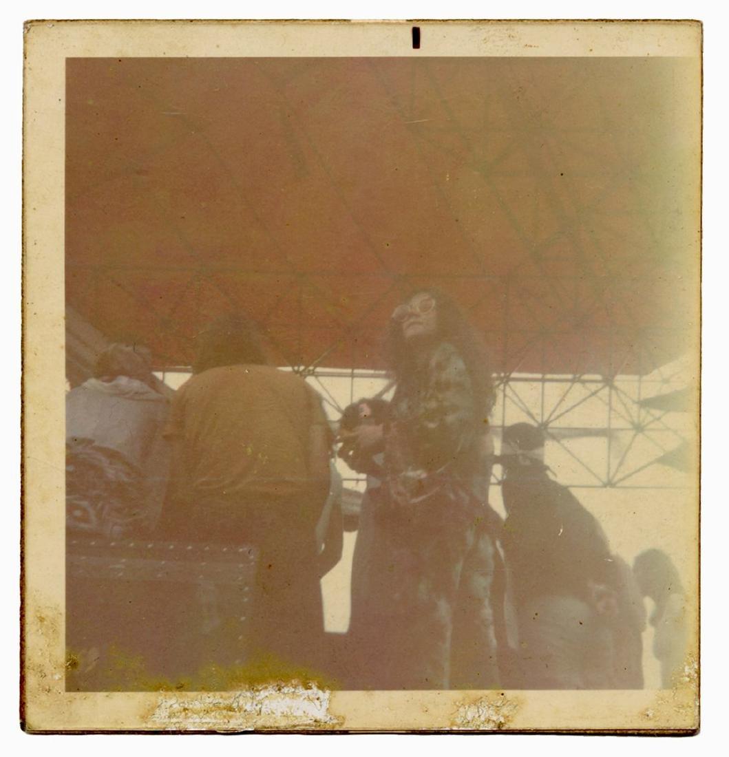 Janis Joplin Atlantic City Pop Festival Candid Polaroid