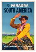 Fly Panagra. South America. Pan American-Grace Airways