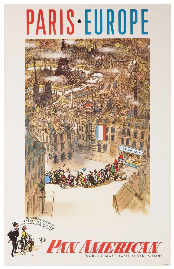 Paris. Europe. Pan American.