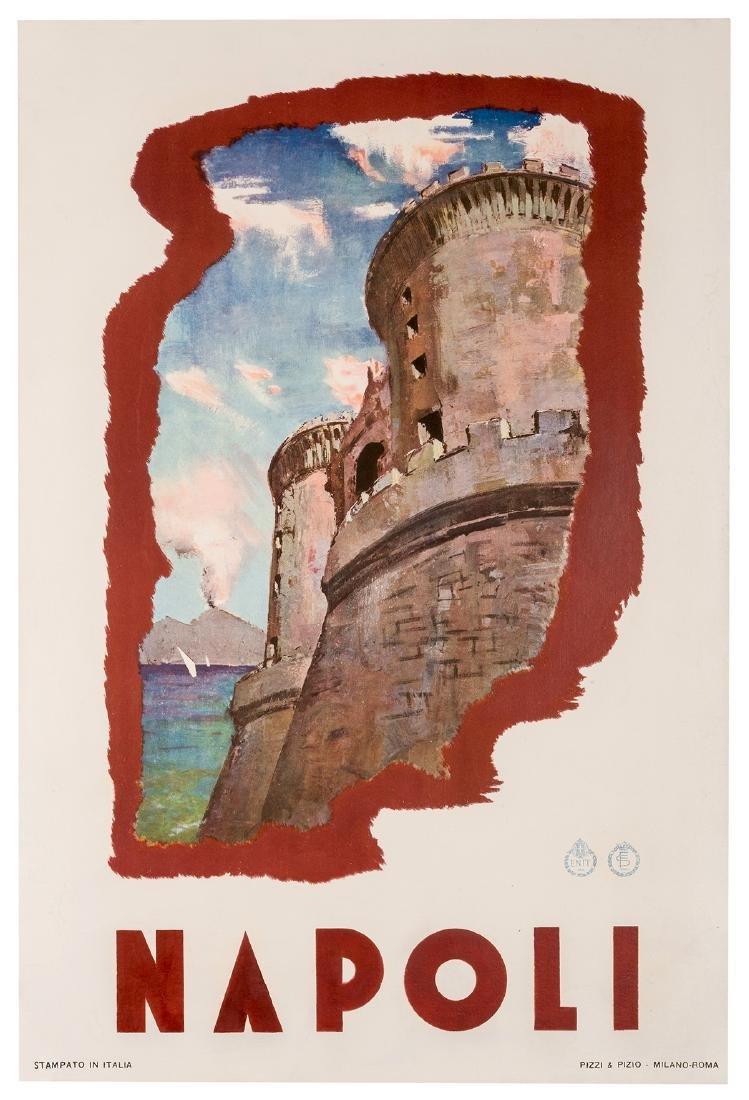 Trio of Vintage Italian Travel Posters.