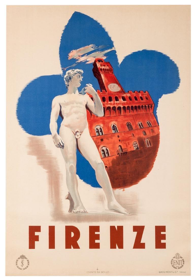 Trio of Vintage Italian Travel Posters. - 2