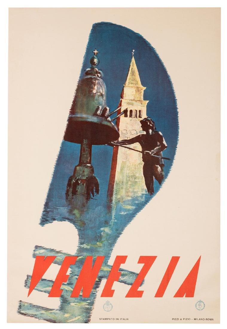 Trio of Vintage Italian Travel Posters. - 3