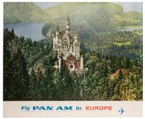 Fly Pan Am to Europe