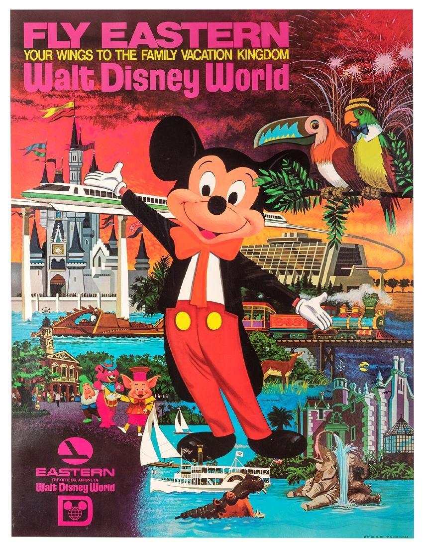 Fly Eastern. Walt Disney World.