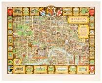 London The Bastion of Liberty. Vintage Tourism Travel