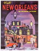Visit New Orleans. Gay, Fascinating Year Round.