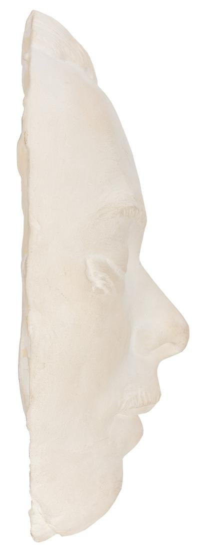 John Dillinger Death Mask, Hair from His Moustache, and - 2