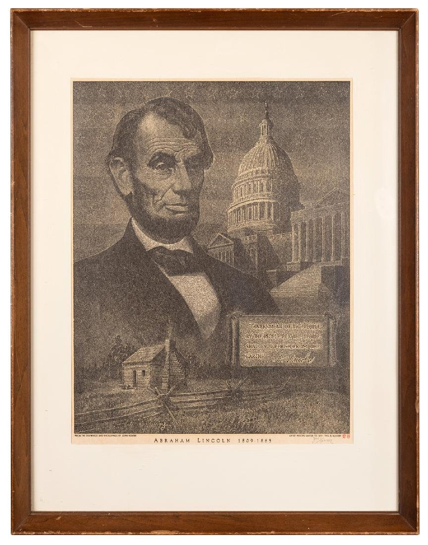 Abraham Lincoln. 1809—1865.