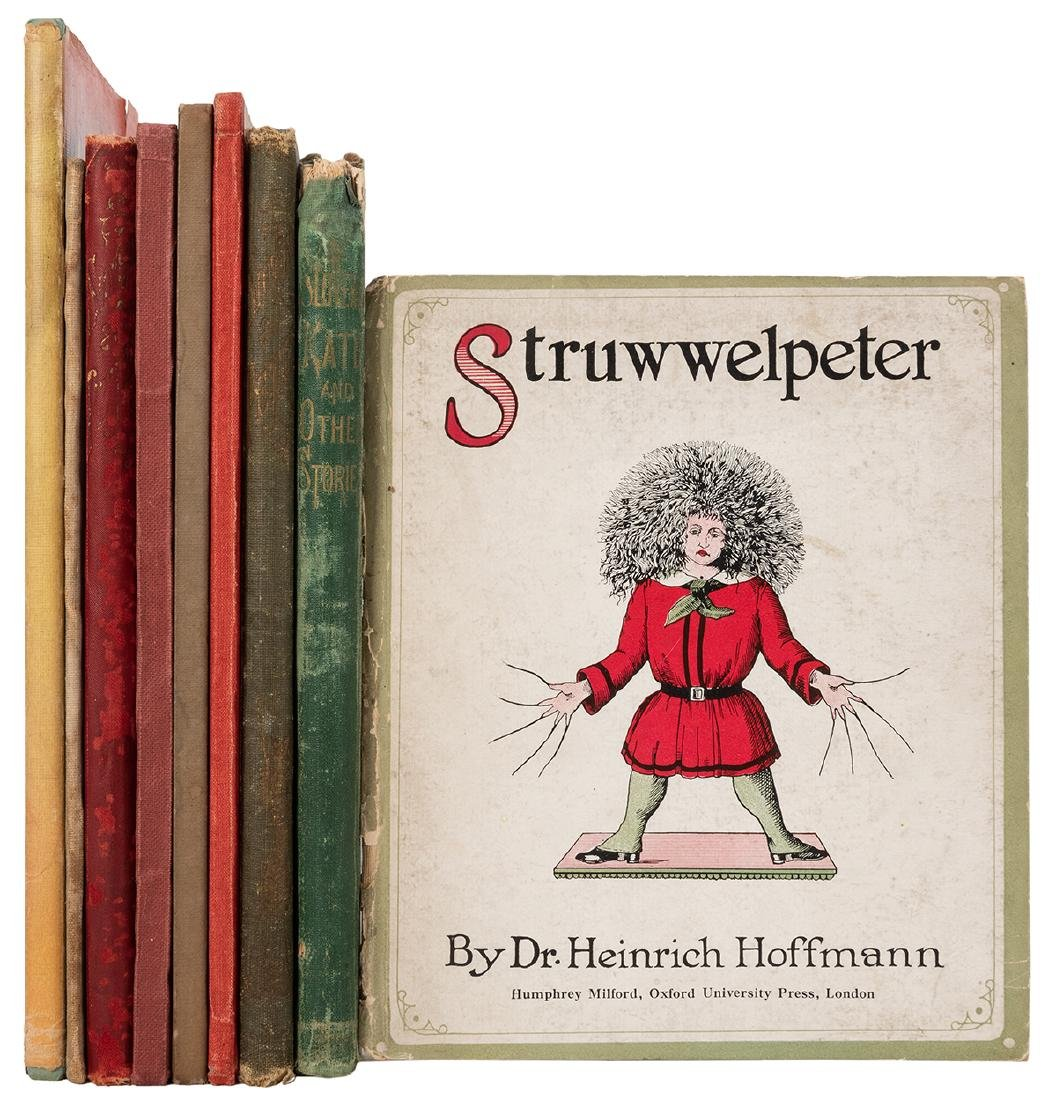 Collection of Struwwelpeter Books in English.