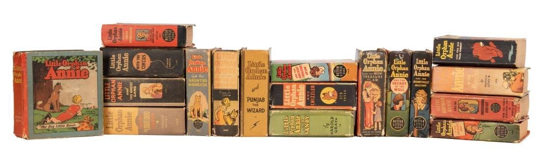 Little Orphan Annie. 18 Big Little Books.