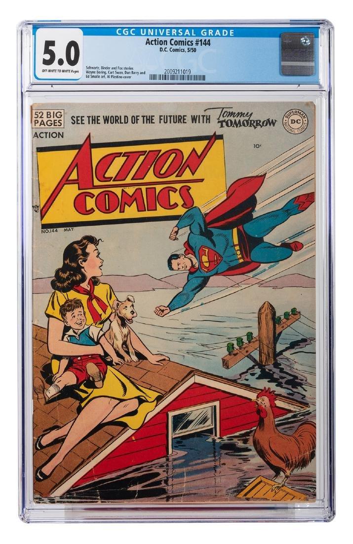 Action Comics No. 144.