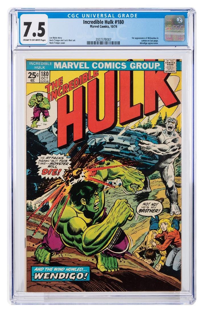 Incredible Hulk No. 180.