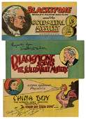 Blackstone and Litzka Raymond. Three Mini Comics, Two