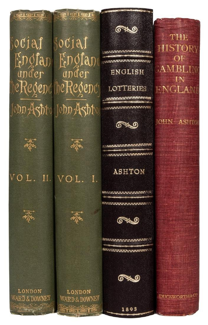 Four Volumes on History of Gambling in England.