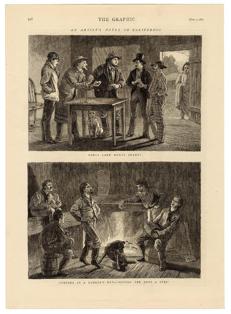 Group of Gambling Engravings and Prints From