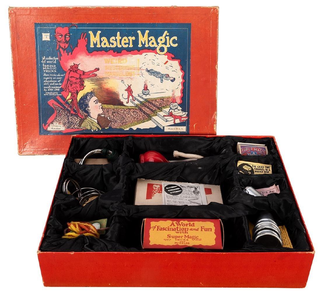 Sherms Master Magic Set No. 1.