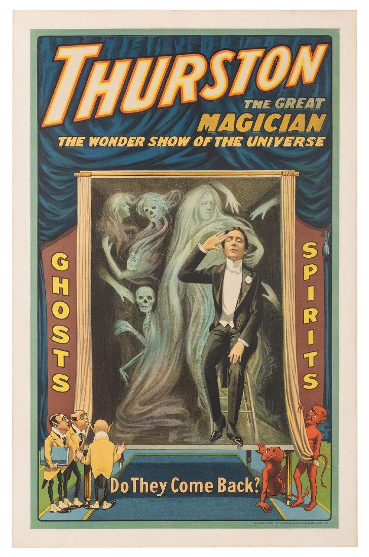 Thurston The Great Magician. Do They Come Back?