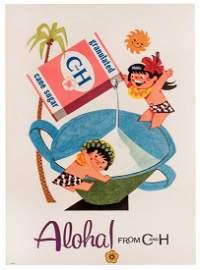 Aloha! From C and H. Granulated Sugar. Circa 1950s.