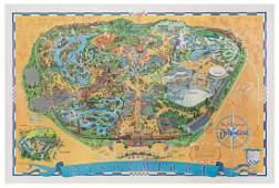 Disneyland. Magic Kingdom. U.S.A., 1968.