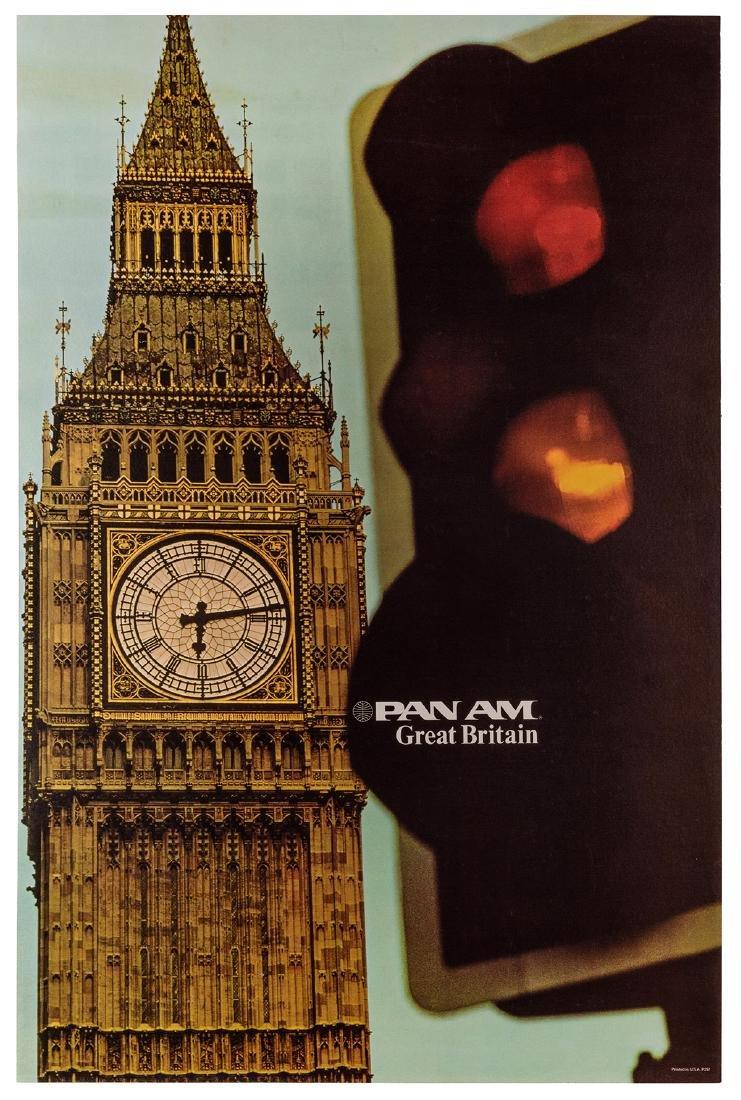 Pan Am. Great Britain. 1970s.