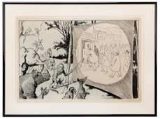 Glackens, Louis M. (American 1870—1938). Original