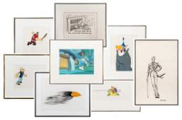 Collection of Original Animation Production Cel and