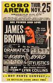 "James Brown ""Sex Power and Love"" Jumbo"