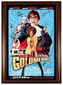 Austin Powers in Goldmember Signed by Cast. New Line
