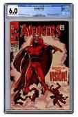 Avengers No. 57. Marvel Comics, 1968. CGC 6.0 graded